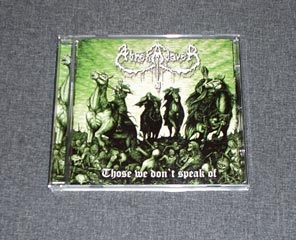 ABREKADAVER - Those We Don't Speak Of CD