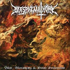 BLASPHEMATHORY - War, Blasphemy And Divine Destruction DIGIPAK