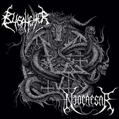 BLASPHEMER / NEOCAESAR - Split CD