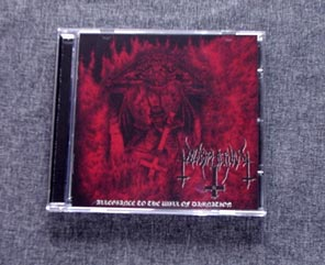 BLASPHERIAN - Allegiance To The Will Of Damnation CD