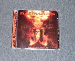 BLASTMASTERS - Twisted Metal CD