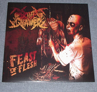 BONE GNAWER - Feast Of Flesh LP