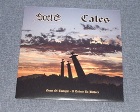 "CALES/SORTS - Onset of Twilight - A Tribute to Bathory 7""EP"