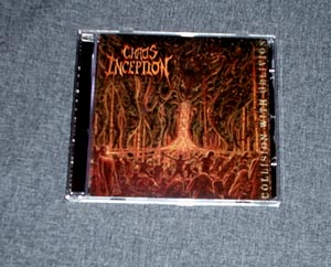 CHAOS INCEPTION - Collision With Oblivion CD
