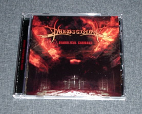 DAEMUSINEM - Diabolical Carnage CD