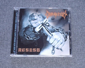 DAMNATION - Resist CD