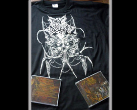 DAY OF DOOM - The Gates Of Hell CD + T-Shirt