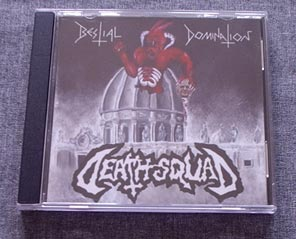 DEATH SQUAD - Bestial Domination CD