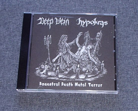 DEEP VEIN/HYPOKRAS - Ancestral Death Metal Terror Split CD