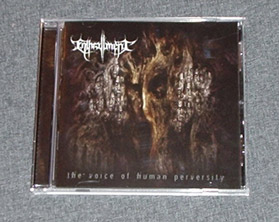 ENTHRALLMENT - The Voice of Human Perversity CD
