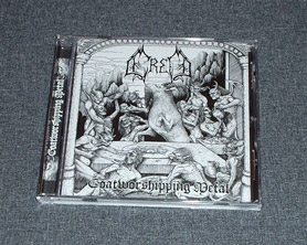 ERED - Goatworshipping Metal CD