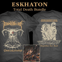 ESKHATON CD+T-Shirt BUNDLE<br>Sizes: XL/XXL