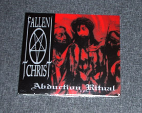FALLEN CHRIST - Abduction Ritual DIGIPACK