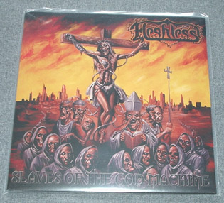 FLESHLESS - Slaves Of The Godmachine LP