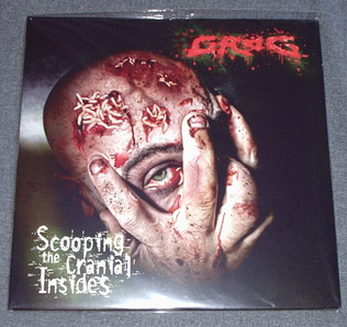 GROG - Scooping The Cranial Insides LP