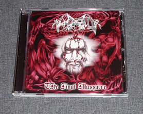 HORRID - The Final Massacre CD