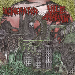 INCINERATOR / VILE APPARITION – Split CD