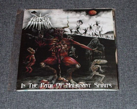 INFERIS - In The Path Of Malignant Spirits CD