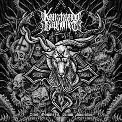 KOMMANDO BAPHOMET - Blood Gospels of Satanic Inquisition CD