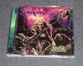 KRAMPÜS - Mental Holocaust CD