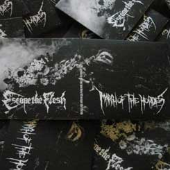 MARCH OF THE HORDES / ESCAPE THE FLESH Split CD *SOLD OUT*