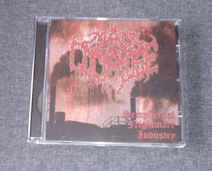 MASS IN COMATOSE - Sempiternal Nightmare Industry CD EP
