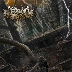MOLECULAR FRAGMENTATION - Recurrence of Blasphemous Maelstorm CD