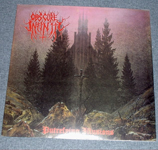 OBSCURE INFINITY - Putrefying Illusions LP