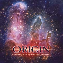 ORIGIN - Abiogenesis - A Coming Into Existence Ltd. CD