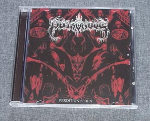 POISONOUS - Perdition's Den CD