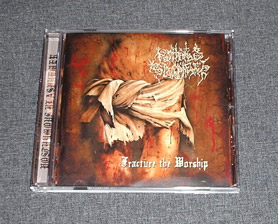 POSTHUMOUS BLASPHEMER - Fracture the Worship CD