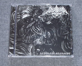 RAPTURE - Infernal Manifest CD