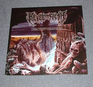 REVEL IN FLESH - Deathevokation LP