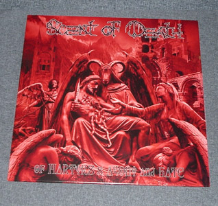 SCENT OF DEATH - Of Martyr's Agony And Hate LP