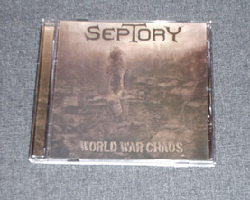 SEPTORY - World War Chaos CD