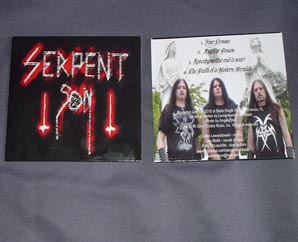 SERPENT SON - Demo 666 CD