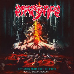 SPARAGMOS - Invitation from Host of Wrath CD