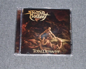 SPECTRAL MORTUARY - Total Depravity CD