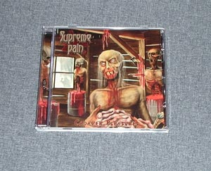SUPREME PAIN - Cadaveric Pleasures CD