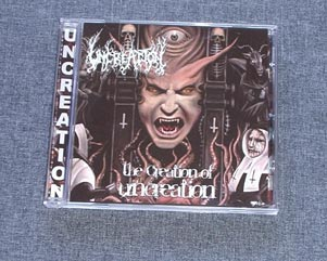 UNCREATION - The Creation Of Uncreation CD