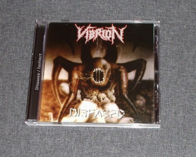 VIBRION - Diseased CD