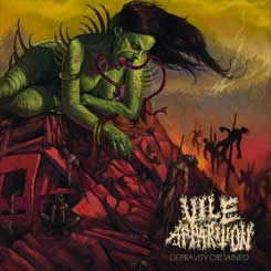 VILE APPARITION - Depravity Ordained CD